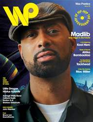 Wax Poetics Magazine Cover