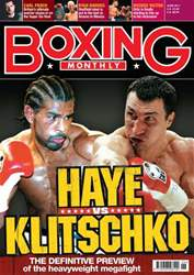 Boxing Monthly June 2011 issue Boxing Monthly June 2011