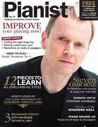 Pianist Magazine Cover