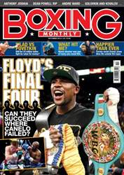 Boxing Monthly October 2013 issue Boxing Monthly October 2013
