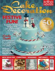 Cake Decoration Christmas 13 issue Cake Decoration Christmas 13