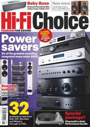 Hi-Fi Choice November 2013 issue Hi-Fi Choice November 2013