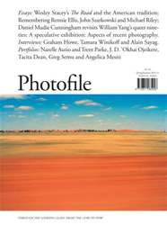 Photofile Magazine Cover