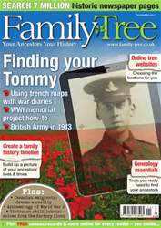 Family Tree November 2013 issue Family Tree November 2013