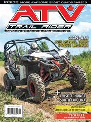 ATV Trail Rider Magazine Cover