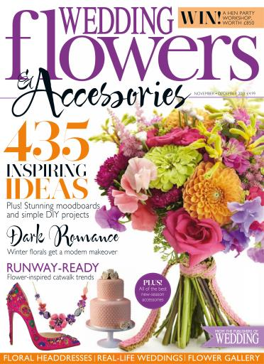 wedding flowers magazine november december 2013 subscriptions pocketmags. Black Bedroom Furniture Sets. Home Design Ideas