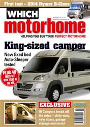 King-sized camper: November 2013 issue King-sized camper: November 2013
