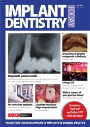 IDT – Implant Dentistry Today Magazine Cover