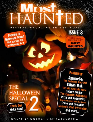 title cover preview haunted magazine preview - Halloween Magazines