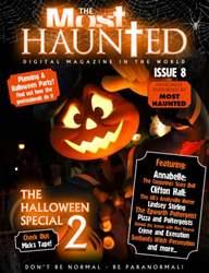 Haunted Magazine Magazine Cover