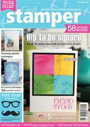 Craft Stamper - November 2013 issue Craft Stamper - November 2013