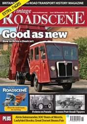 Vintage Roadscene Magazine Cover