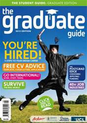 The Graduate Guide Magazine Cover
