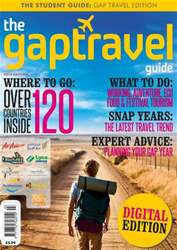 The Gap Travel Guide 2012 issue The Gap Travel Guide 2012