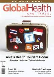 Global Health and Travel Magazine Cover