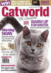 Cat World Magazine Cover