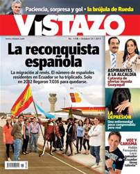 Revista Vistazo Magazine Cover