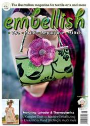 Embellish Magazine issue 16 issue Embellish Magazine issue 16