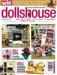 Dolls House World Magazine Cover