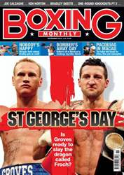 Boxing Monthly November 2013 issue Boxing Monthly November 2013