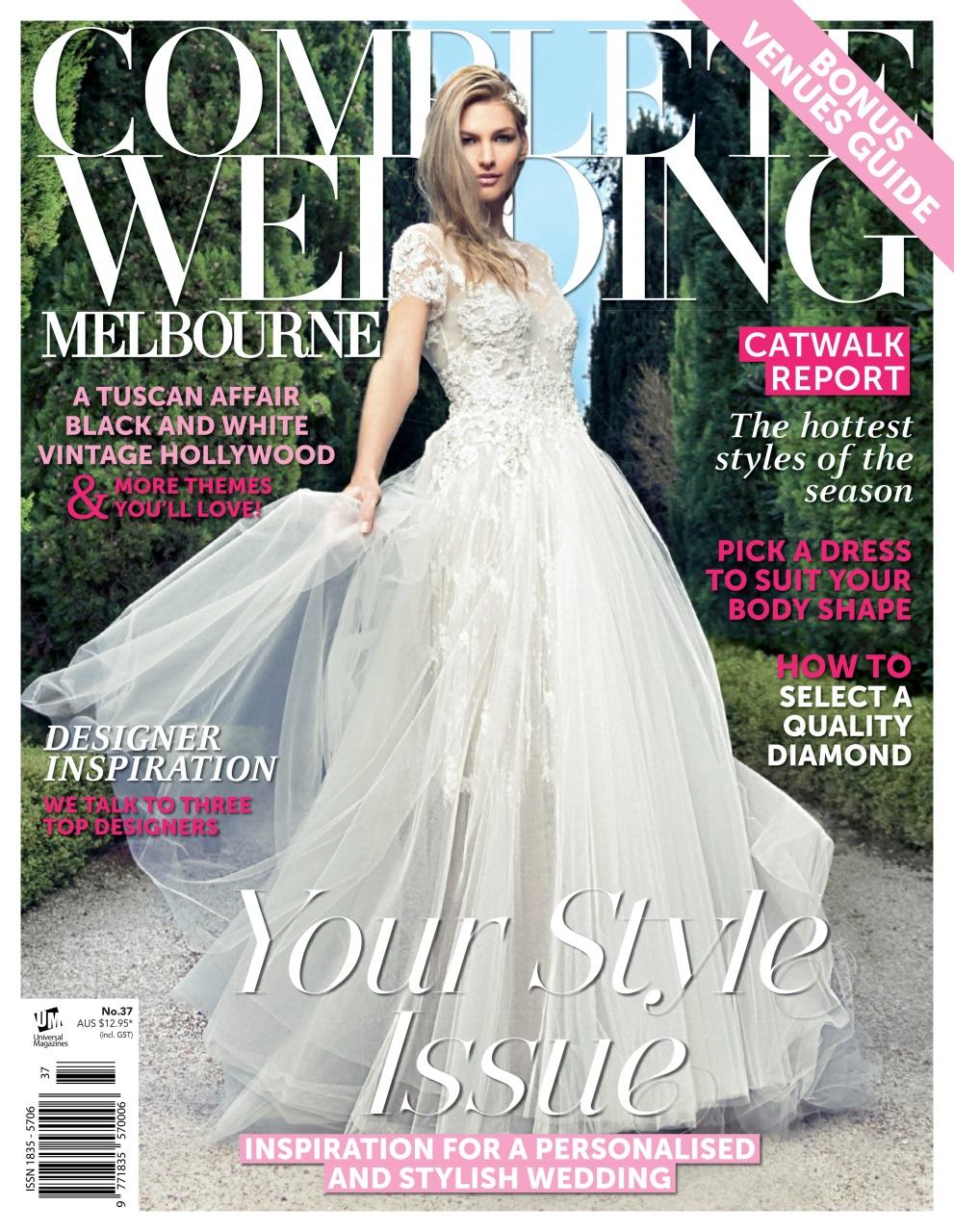 Complete wedding melbourne magazine melbourne issue 37 for Off the rack wedding dresses melbourne