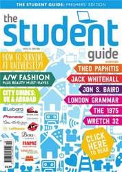 The Student Guide 201314 issue The Student Guide 201314
