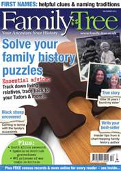 Family Tree December 2013 issue Family Tree December 2013