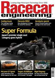 Racecar Engineering Dec 2013 issue Racecar Engineering Dec 2013