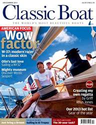 Classic Boat December 2013 issue Classic Boat December 2013