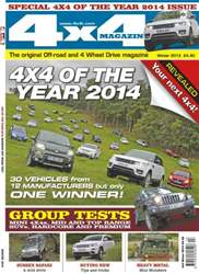 4x4 Of The Year 2014 issue 4x4 Of The Year 2014