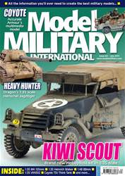 Model Military International Magazine Cover