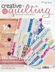 Creative Quilting issue Creative Quilting