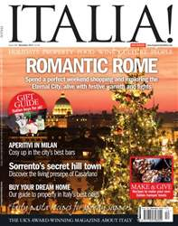 December 2013 Romantic Rome issue December 2013 Romantic Rome
