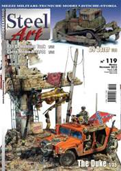 Steel Art Magazine Cover