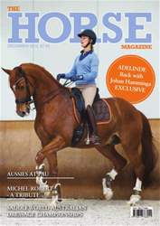 The Horse Magazine December 2013 issue The Horse Magazine December 2013