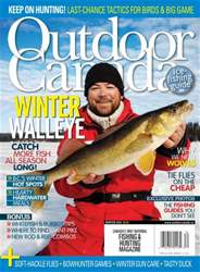 Outdoor Canada Magazine Cover