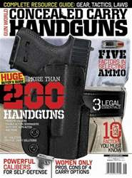Conceal and Carry Magazine Cover