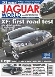XF: First Road Test Feb 08 issue XF: First Road Test Feb 08