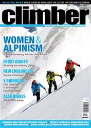 Climber January 2014 issue Climber January 2014