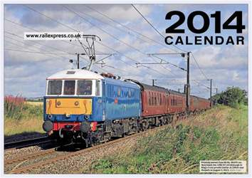 Rail Express Calendar 2014 issue Rail Express Calendar 2014