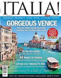 January 2014 Gorgeous Venice issue January 2014 Gorgeous Venice