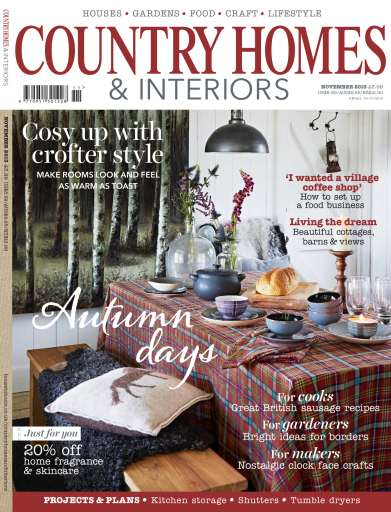 Country Homes Interiors Magazine November 2013 Subscriptions Pocketmags