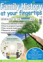 Family History at your fingertips issue Family History at your fingertips