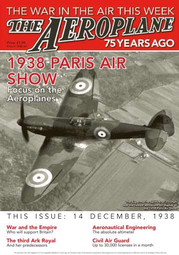 Aeroplane Weekly - The War in the Air 75 years ago Digital Issue