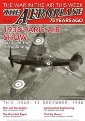 *13 1938 Paris Air Show issue *13 1938 Paris Air Show
