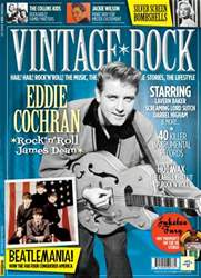 Vintage Rock Magazine Cover