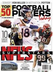 Top 50 Football Player's 2013 issue Top 50 Football Player's 2013