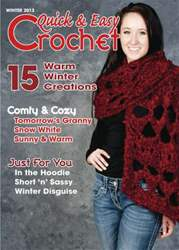 Quick & Easy Crochet Magazine Cover