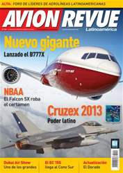 Avion Revue Internacional Latino Magazine Cover