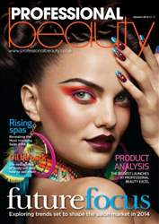 Professional Beauty January 2014 issue Professional Beauty January 2014
